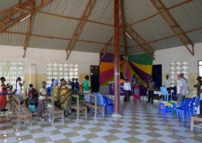 Gottesdienst in der neuen Kirche
