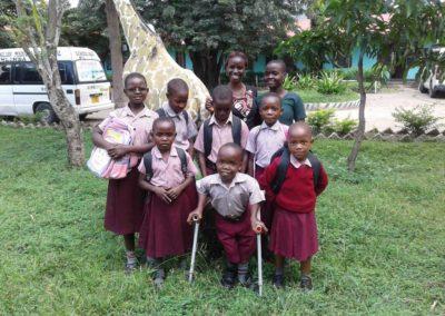 Schüler in Mlimba