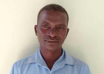 Pflegeassistent: Peter Mbongwani
